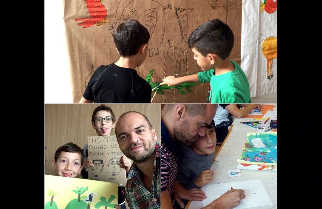 Taller impartido en colaboración con la Fundación Autismo Diario