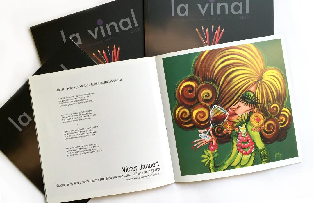 """Participación en la 4ª Bienal de Arte y Vino, Tacoronte-Acentejo.  """"La Vinal""""  2012."""