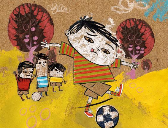 El niño que no quería jugar al fútbol