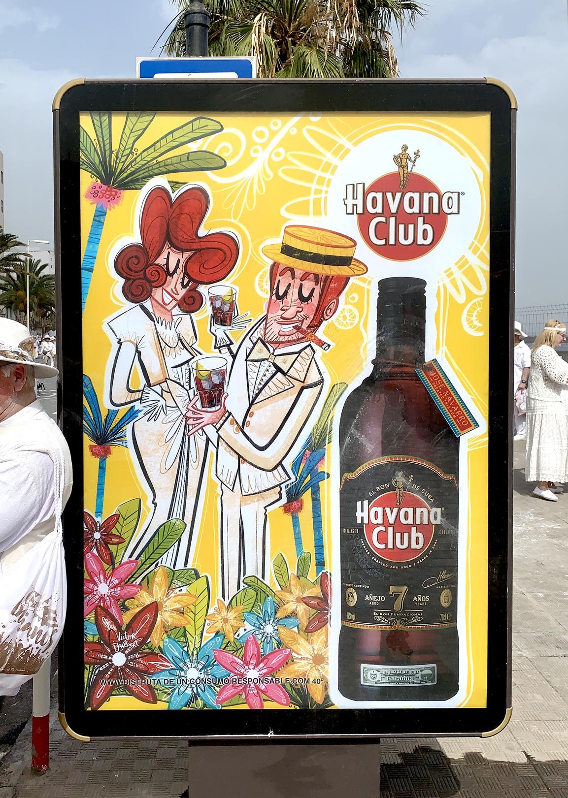 1-Colaboración ron Havana Club. Campaña carnavales 2019 y 2020