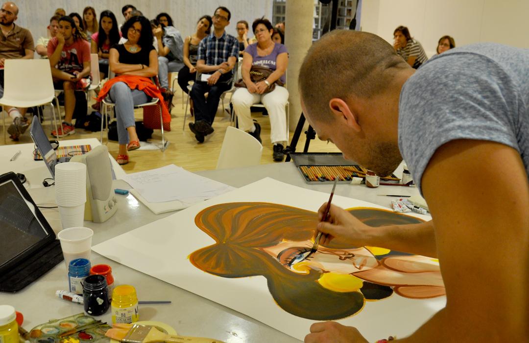 Taller de Ilustración en TEA, Tenerife Espacio de las Artes.